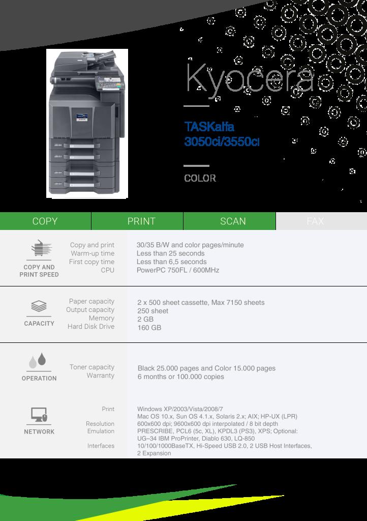 KY-TA3050ci-3550ci